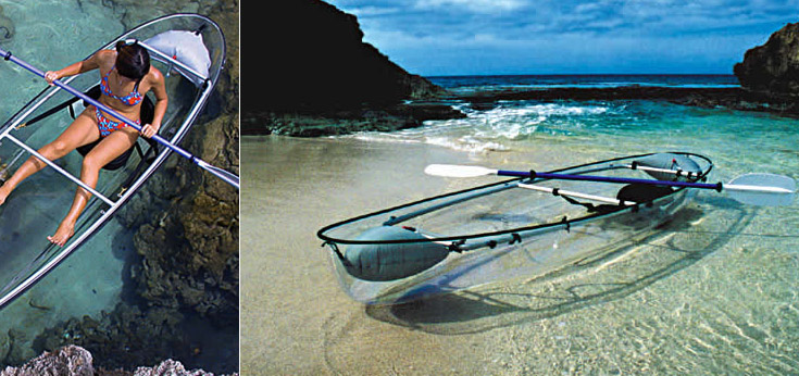 Transparent Boats