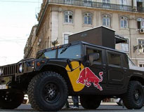 Red Bull Hummer H1 Custom Fabricated 3 Vehicles Customcrs