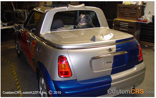 Red Bull Mini Cooper Promotional Marketing Vehicles Customcrs