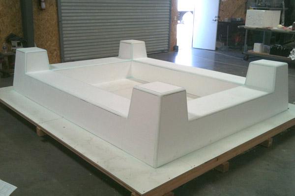 CNC Hot Wire Cutting, Architectural Foam Details, EPS Foam