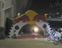 Motocross Photo Arch at Event Las Vegas